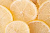 Lemons background — Stock Photo
