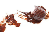 Melted chocolate — Stock Photo