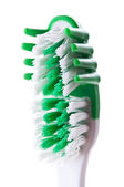 New green toothbrush — Stock Photo