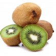 Fresh green kiwi - Stock Photo