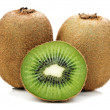 Green kiwi - Stock Photo