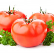 Fresh red tomato — Stock Photo