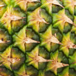 Closeup texture of pineapple — Stock Photo