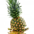 Pineapple isolated — Stock Photo #9351183