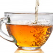 Tea pouring — Stock Photo