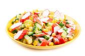 Salad isolated — Stock Photo