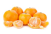 Orange mandarins — Stock Photo