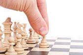 下象棋的人 — 图库照片