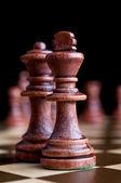 国际象棋王 — 图库照片