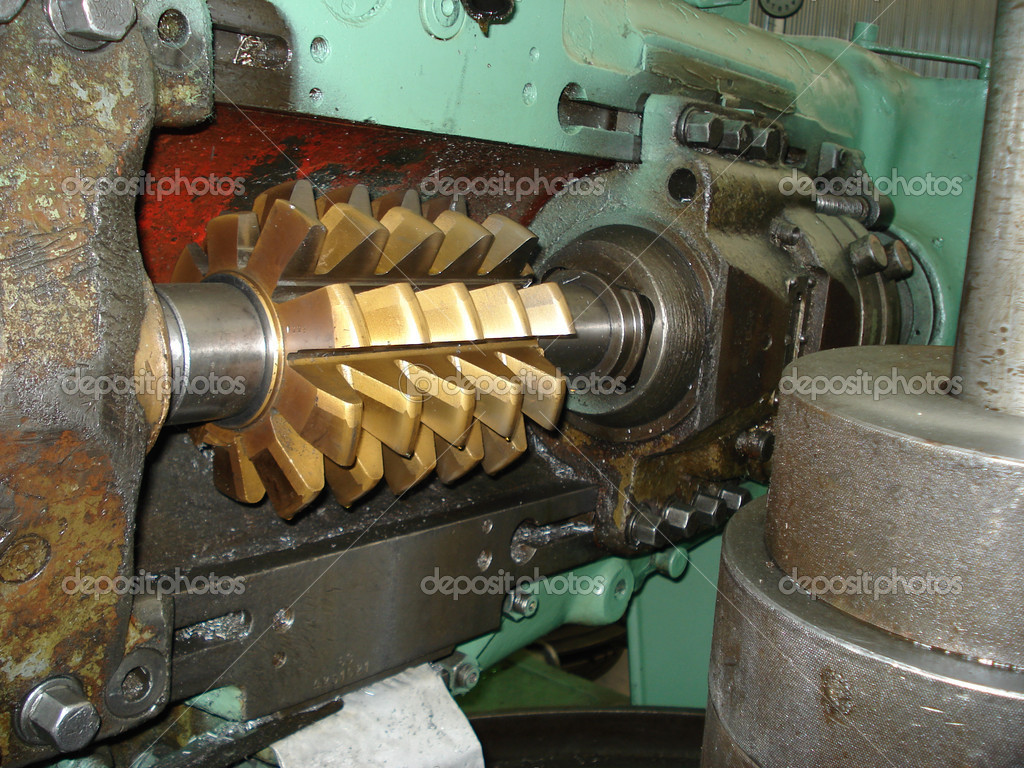 The  machine tool on a factory  Stock Photo #9675241