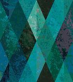 Emerald seamless background. diamond-shaped mosaic — Stock Vector