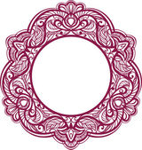 Decorative frame. Vintage ornamental element — Stock Vector