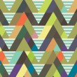 Geometric decorative seamless background. striped pattern — ベクター素材ストック