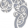 Royalty-Free Stock Vektorfiler: Maori tattoo design