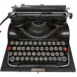Antique portable typewriter — Stock Photo #8974532