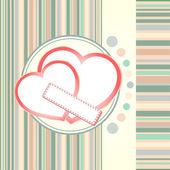 St. Valentine's day texture, wedding love theme — Cтоковый вектор