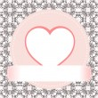 Royalty-Free Stock Imagen vectorial: Valentine\'s day vector background heart