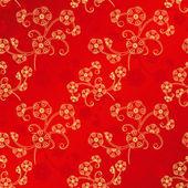 Modèle sans couture orientale nouvel an chinois — Vecteur
