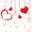 Royalty-Free Stock Vector Image: St Valentine greeting card