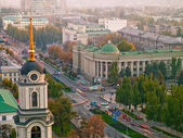 Donetsk from a height — Stock Photo