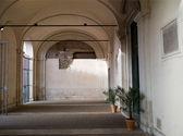Yard in Italy — Stock Photo