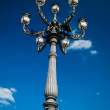 The original street light in Italy — Stock Photo