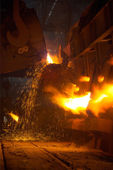 The metallurgical plant — Stock Photo