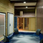 Sauna room — Stock Photo