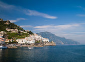 Sea in Amalfi — Stock Photo