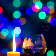 Beautiful bokeh, romantic — Stockfoto