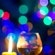 Beautiful bokeh, romantic — Foto de Stock