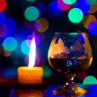 Beautiful bokeh, romantic — Foto Stock