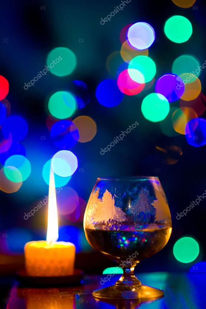 Beautiful bokeh, romantic celebration  Lizenzfreies Foto #10108617