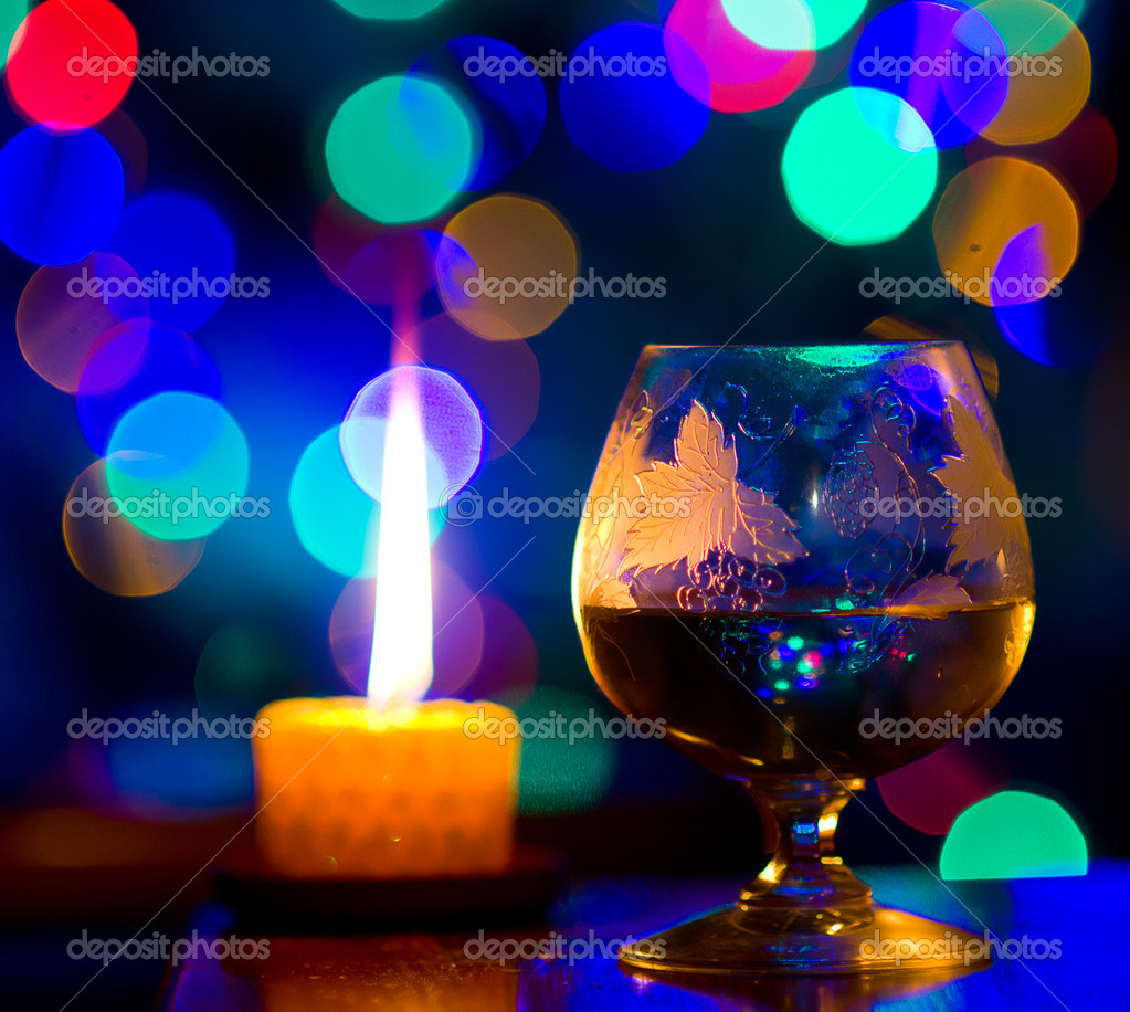 Beautiful bokeh, romantic celebration — Stock Photo #10108628