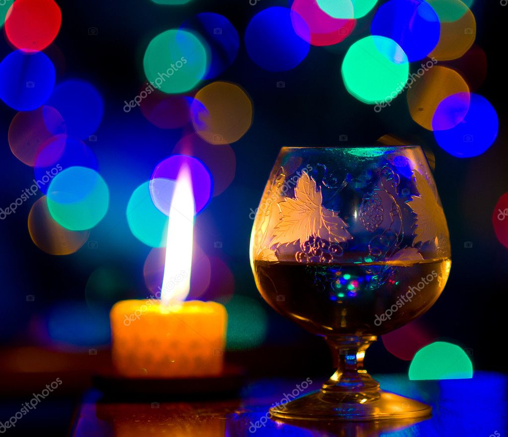 Beautiful bokeh, romantic celebration — Stockfoto #10108633