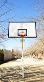 Kosz koszykówka w parku — Zdjęcie stockowe