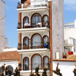 Singular building in Sitges — Stock Photo