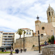 Church of Sant Bartomeu and Sant Tecla - Foto Stock