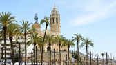 Church of Sant Bartomeu and Sant Tecla — Stock Photo