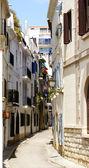 Sitges typiska street — Stockfoto