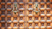 Door of the Palau del Mar — Stock Photo