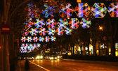Weihnachten Beleuchtung. — Stockfoto