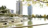 Diagonal Park in Barcelona — Stock Photo