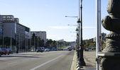 Avenue barcelona — Stok fotoğraf