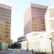 Square and buildings of the city of the justice — Stock Photo #9959287