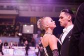 Championship of Ukraine on sporting dances 2012 — Stock Photo