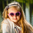 Royalty-Free Stock Photo: Little girl in sunglasses