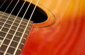 Guitar closeup — Stock Photo