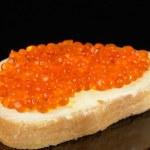 Red caviar — Stock Photo #9302988