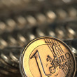 Euro coin — Stock Photo